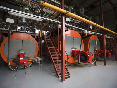Boiler Tank & Shipping Container